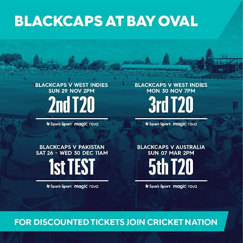 T20 BLACKCAPS V West Indies #2
